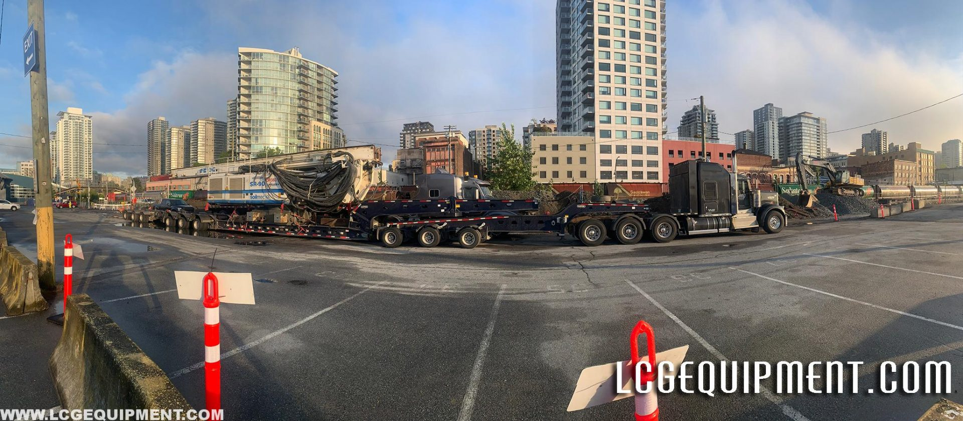 panoramic heavy haul image